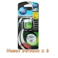 Hot Promo Ambipur Mini Clip After Tobacco 2 Ml Hemat Isi 6 Bermutu