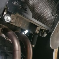 Cover Radiator Ninja 250FI 250 FI Z250 - Black Edition by RGR Eng