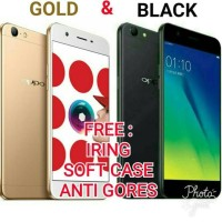 Termurah Oppo A57 Gold & Black Garansi Resmi Oppo - Hitam