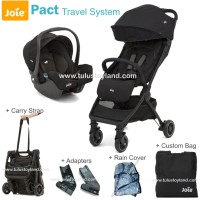 Joie – Pact Travel System Pack Stroller Travel dan Car Seat Bayi