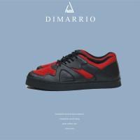 DIMARRIO BLACK-RED SNEAKERS