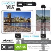 ULANZI Ipad Air Pro Mini Tablet Holder 360 Degree Rotating 1/4 Screw