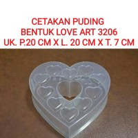 Cetakan Hati 3206/Cetakan Love Art/Cetakan Puding/cake/jelly/Bento