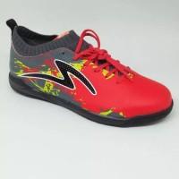 sepatu futsal specs original cyanide tnt 19 empored red