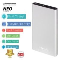 Delcell Neo Power Bank 10.000 Mah Real Capacity Polymer Battery