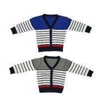 Saneoo Kenzo Baby Cardigan - 12-18 Bulan, Biru
