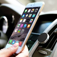 Universal Car Mount Holder Magnetic Car Air Vent for hp, tab hitam