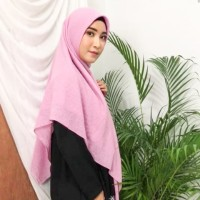 Hijab Syar'i katun voal dobby import jumbo