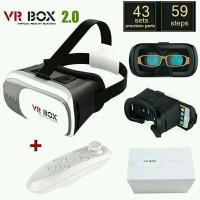 PROMO BESAR VR BOX 3D 360 REMOTE REMOT VIRTUAL REALTY 2 0 BARU