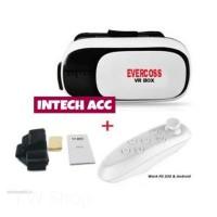 GROSIR Vr Box 2 0 Virtual 3D plus Remote Bluetooth