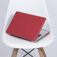 Case Macbook Pro 13 Red Leather