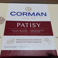 BUTTER CORMAN PATISY SHEET 2Kg