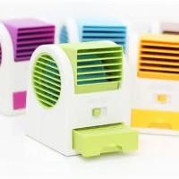 Ac Duduk Mini Portable Fragrance Handy Cooler Bladeless Fan Kipas