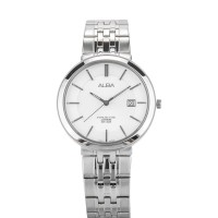 Alba Man White Dial Sapphire Crystal Stainless Steel [AS9D83X1]