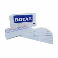 Amplop Putih Polos Royal Jaya 104 Ukuran 10cm x 15,5cm