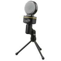 Condenser Microphones Snowball Ice with Stand for Gaming Laptop