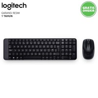 Keyboard + Mouse Wireless Logitech MK220