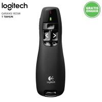 Logitech Wireless Presenter R400 Pointer Original Garansi Resmi