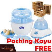 BabySafe LB 309 Alat Steril Botol Susu Penghangat Asi Beku Anak Bayi