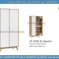 LP 2296 XL Graver Lemari 2 Pintu Cermin Agusto