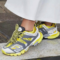 BALENCIAGA TRACK TRAINER SNEAKERS YELLOW UN AUTHORIZED PREMIUM