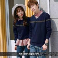 set FNDI couple | sweater couple | cardigan couple | sweater pasangan