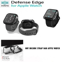 X-doria Apple Watch 4 (44 MM) Defense Edge Case Xdoria - Black Bumper