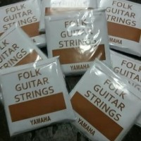 Senar gitar akustik string steel ORIGINAL yamaha (COKLAT)