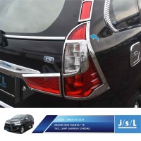 JSL Garnis Belakang Grand Avanza Veloz Xenia Krom Tail Lamp Garnish