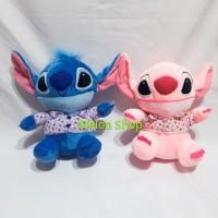Boneka Lilo Stitch Pink Kemeja Hawaii Yelpo Halus