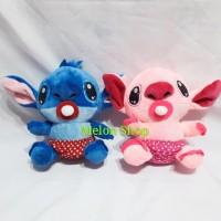 Boneka Baby Stitch Dot Yelpo Halus