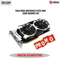 VGA MSI GEFORCE GTX 960 2GB GDDR5 OC