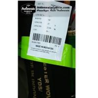 Kain Niqab Premium Kain Chifon Jetblack Sifon Jet Black Leuwitex roll
