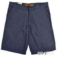 GTP 5 Celana Pendek Pantai Santai Pria Lak bahan blue jeans hangout