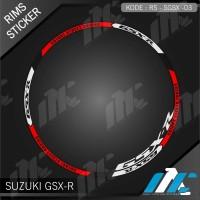 SGSX 03 - LIS VELG GSX-R - STIKER LIST - STICKER VELG GSX-R