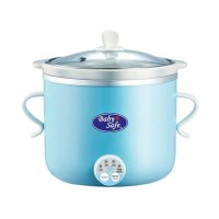 Premium BabySafe LB 007 Slow Cooker with Timer Warmer