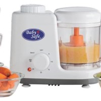 Premium Baby Safe Food Maker Steamer and Blender Blender Makanan Bayi