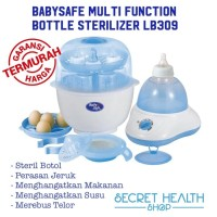 Premium Babysafe LB309 Baby Safe Bottle Sterilizer Multi Function Bot