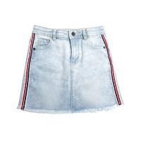 KIDS ICON - Rok Jeans Anak Perempuan Curly Denim Skirt -LYR00100180 - 6-7 tahun