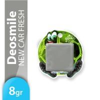 Glade Deo Smile New Car Fresh 8gr - Pengharum Mobil