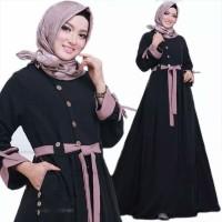 Baju Gamis Muslim Remaja Wanita modern LUNA DRESS Good Quality