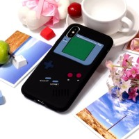SS10572 - 3D GAMEBOY SILICONE CASE IPHONE X - XS