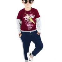 mc fashion Celana panjang jogger training Anak Umur 7-8 Tahun- Daniel