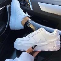 Sepatu Nike Air Force One Women Sneakers Wanita Cewe Premium Original
