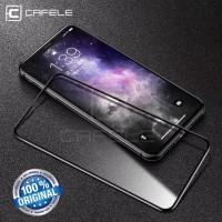 tempered glass iphone 7 8 7 plus 8 plus full cover 4D cafele original
