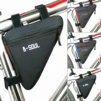 Tas Sepeda B-SOUL Segitiga / Frame Bag Bike B-SOUL / Tas Sepeda Import
