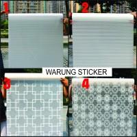 [PROMO!!] sticker kaca/stiker kaca motif minimalis - no 1