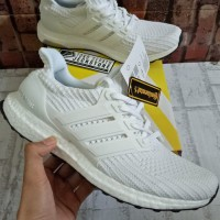 SEPATU ADIDAS ULTRABOOST 4.0 TRIPLE WHITE UNAUTHORIZED AUTHENTIC (UA)