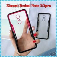 Case Marble Miror Xiaomi Redmi Note 3 Premium Bumper Clear Back Cover