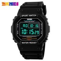 Skmei Digital Watch Pria Militer Outdoor Tahan Air LED Running Watch